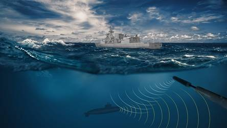 Towed Array Sonar graphic